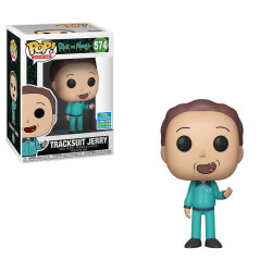 Figurine - Pop! Animation - Rick and Morty - Tracksuit Jerry - N° 574 - Funko