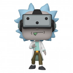 Figurine - Pop! Animation - Rick and Morty - Gamer Rick - N° 741 - Funko