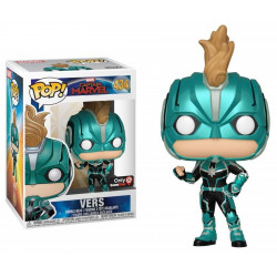 Figurine - Pop! Marvel - Captain Marvel - Vers - N° 434 - Funko