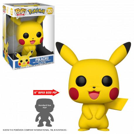 Figurine - Pop! Games - Pokémon - Pikachu 25cm - N° 353 - Funko