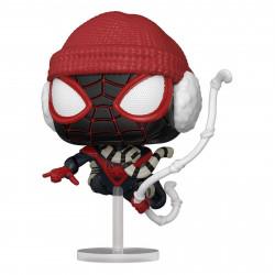 Figurine - Pop! Marvel - Spider-Man Miles Morales - Winter Suit - N° 771 - Funko