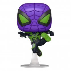 Figurine - Pop! Marvel - Spider-Man Miles Morales - Purple Reign Suit - Funko