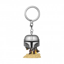 Porte-clé - Pocket Pop! Keychain - Star Wars The Mandalorian - Mando - Funko