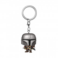 Porte-clé - Pocket Pop! Keychain - Star Wars The Mandalorian - Mandalorian - Funko