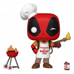 Figurine - Pop! Marvel - Deadpool - Backyard Griller Deadpool - N° 774 - Funko
