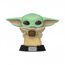 Figurine - Pop! Star Wars - The Mandalorian - The Child with Cup - N° 378 - Funko