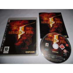 Jeu Playstation 3 - Resident Evil 5 - PS3