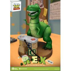 Figurine - Disney - Toy Story - Master Craft Rex - Beast Kingdom Toys