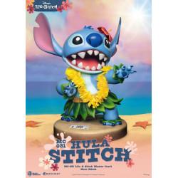 Figurine - Disney - Lilo & Stitch - Master Craft Hula Stitch - Beast Kingdom Toys