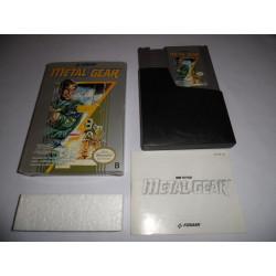 Jeu NES - Metal Gear