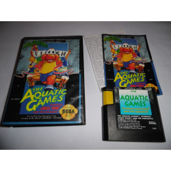 Jeu Mega Drive - The Aquatic Games starring James Pond and the Aquabats