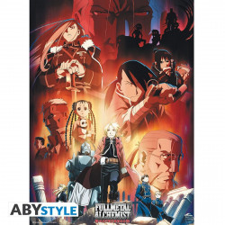 Poster - Fullmetal Alchemist - Groupe - 52 x 38 cm - ABYstyle
