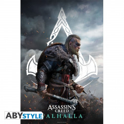 Poster - Assassin's Creed - Valhalla Eivor - 91.5 x 61 cm - ABYstyle