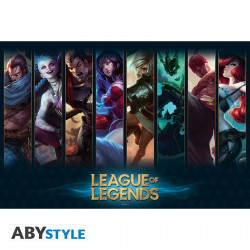 Poster - League of Legends - Champions - 91.5 x 61 cm - ABYstyle