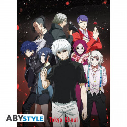Poster - Tokyo Ghoul - Groupe - 52 x 38 cm - ABYstyle