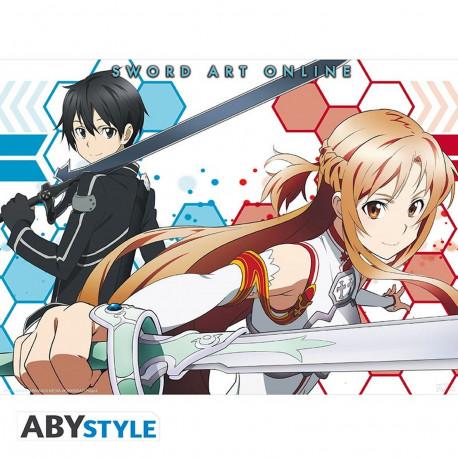 Poster - Sword Art Online - Asuna & Kirito 2 - 52 x 38 cm - ABYstyle