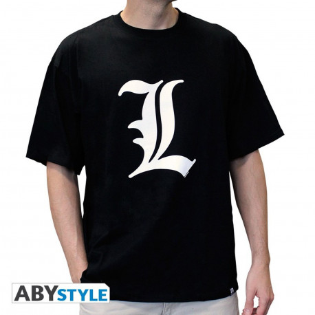 T-Shirt - Death Note - L tribute - Abystyle