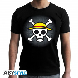 T-Shirt - One Piece - Skull with Map - ABYstyle