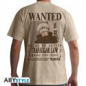 T-Shirt - One Piece - Wanted Trafalgar Law - ABYstyle