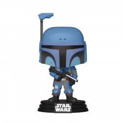 Figurine - Pop! Star Wars - The Mandalorian - Death Watch Mandalorian (Two Stripes) - N° 354 - Funko