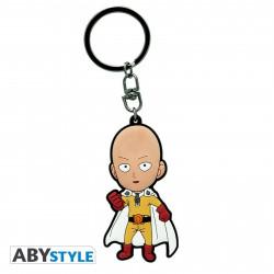 Porte-Clé - One Punch Man - Saitama SD - PVC - ABYstyle