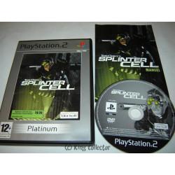 Jeu Playstation 2 - Tom Clancy's Splinter Cell (Platinum) - PS2