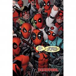 Poster - Marvel - Deadpool - Selfie - 61 x 91 cm - Pyramid International