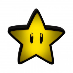 Lampe - Super Mario Bros. - Super Star Light with Sound - Paladone Products