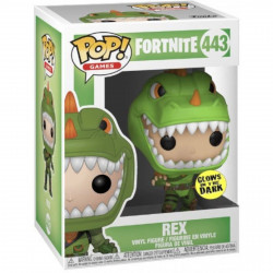 Figurine - Pop! Games - Fortnite - Rex GITD - N° 443 - Funko