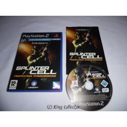Jeu Playstation 2 - Tom Clancy's Splinter Cell Pandora Tomorrow - PS2
