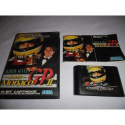 Jeu Mega Drive - Ayrton Senna's Super Monaco GP II