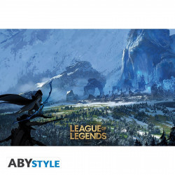 Poster - League of Legends - Freljord - 91.5 x 61 cm - ABYstyle