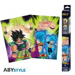 Set de 2 Posters - Dragon Ball Super - Broly - 52 x 38 cm - ABYstyle
