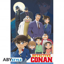 Poster - Detective Conan - Groupe - 91.5 x 61 cm - ABYstyle
