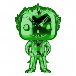 Figurine - Pop! Heroes - Batman Arkham Asylum - The Joker (Green Chrome) - N° 53 - Funko