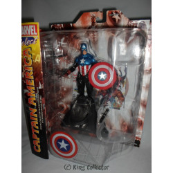 Figurine - Marvel - Marvel Select - Captain America - Diamond Select