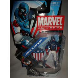 Figurine - Marvel - Marvel Universe - Marvel's Patriot - Hasbro