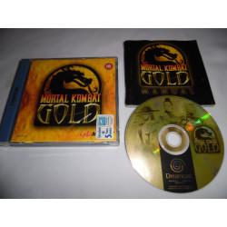 Jeu Dreamcast - Mortal Kombat Gold