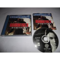 Jeu Dreamcast - Resident Evil 3 Nemesis