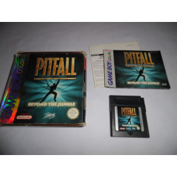 Jeu Game Boy Color - Pitfall Beyond the Jungle