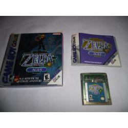 Jeu Game Boy Color - The Legend of Zelda Oracle of Ages - GBC