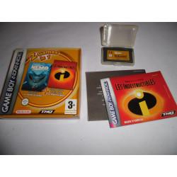 Jeu Game Boy Advance - 2 Games in 1 Le Monde de Nemo / Les Indestructibles - GBA