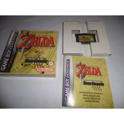 Jeu Game Boy Advance - The Legend of Zelda A Link to the Past + Four Swords GBA