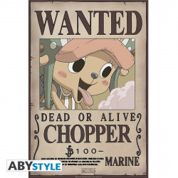 Poster - One Piece - Wanted Chopper New - 52 x 35 cm - ABYstyle