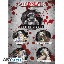 Poster - Goblin Slayer - Personnages - 52 x 38 cm - ABYstyle