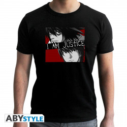 T-Shirt - Death Note - I am Justice - ABYstyle