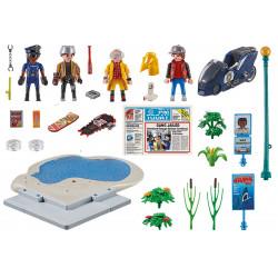 Jouet - Retour vers le Futur - Course d'Hoverboard - Playmobil