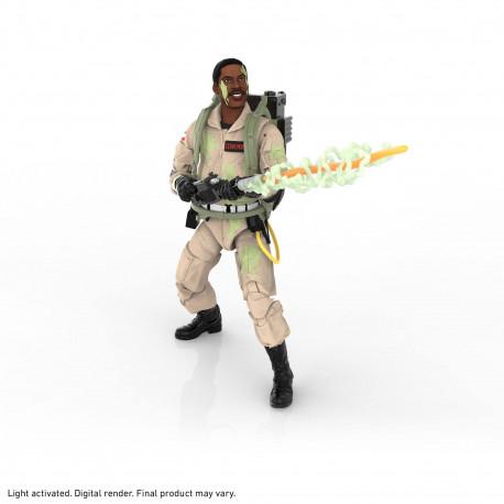 Figurine - Ghostbusters - Plasma Series - Winston Zeddemore GITD - Hasbro