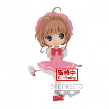 Figurine - Cardcaptor Sakura - Q Posket - Sakura Kinomoto Ver. B - Banpresto