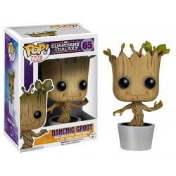 Figurine - Pop! Marvel - Gardiens de la Galaxie - Dancing Groot - N° 65 - Funko